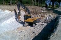 Izkop za hišo